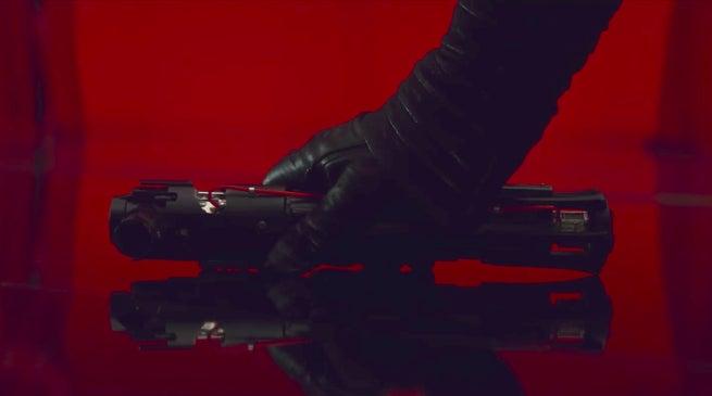 Star Wars 8 Kylo Ren New Lightsaber