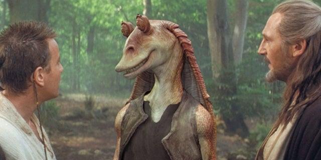 Star Wars Officially Gives Jar Jar Binks a Lightsaber