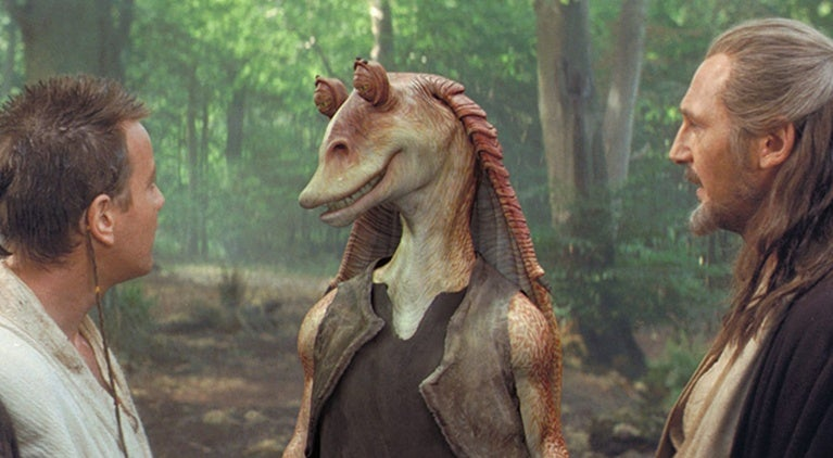 star-wars-jar-jar-binks-movie-history