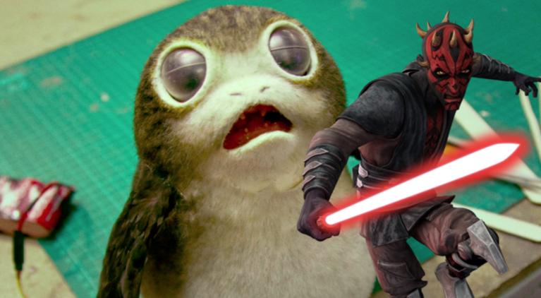 Star Wars Porg Darth Maul