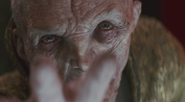 star wars the last jedi supreme leader snoke new trailer