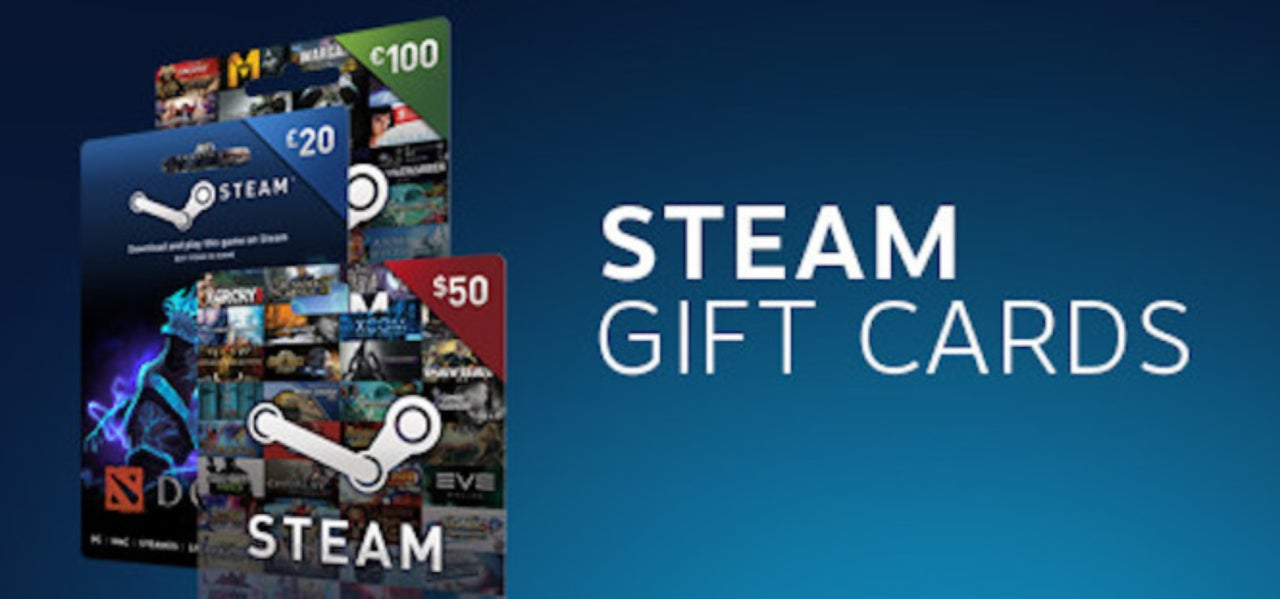 Steam Digital Gift Cards Can Now Be Given To Your Friends
