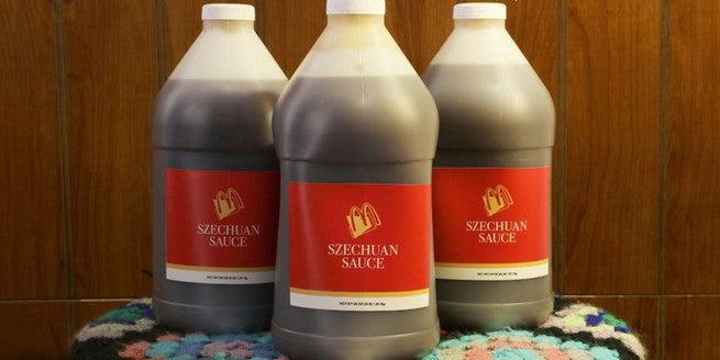 Szechuan Sauce - Alien
