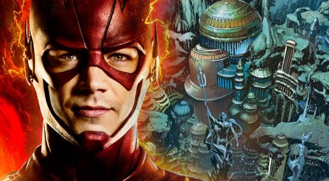 the flash season 4 atlantis