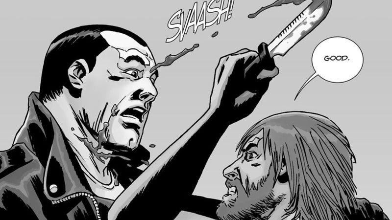 The Walking Dead All Out War Rick Negan Final Fight