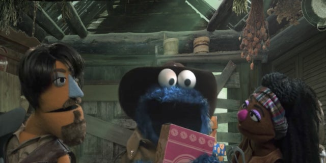 The Walking Dead Sesame Street