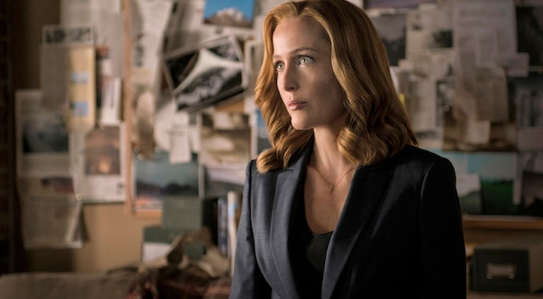 The X-Files Gillian Anderson Scully