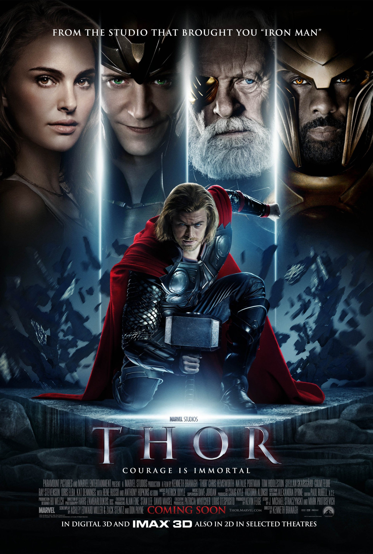 Thor Movie Poster - Marvel Cinematic Universe