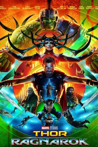 Thor: Ragnarok movie poster image
