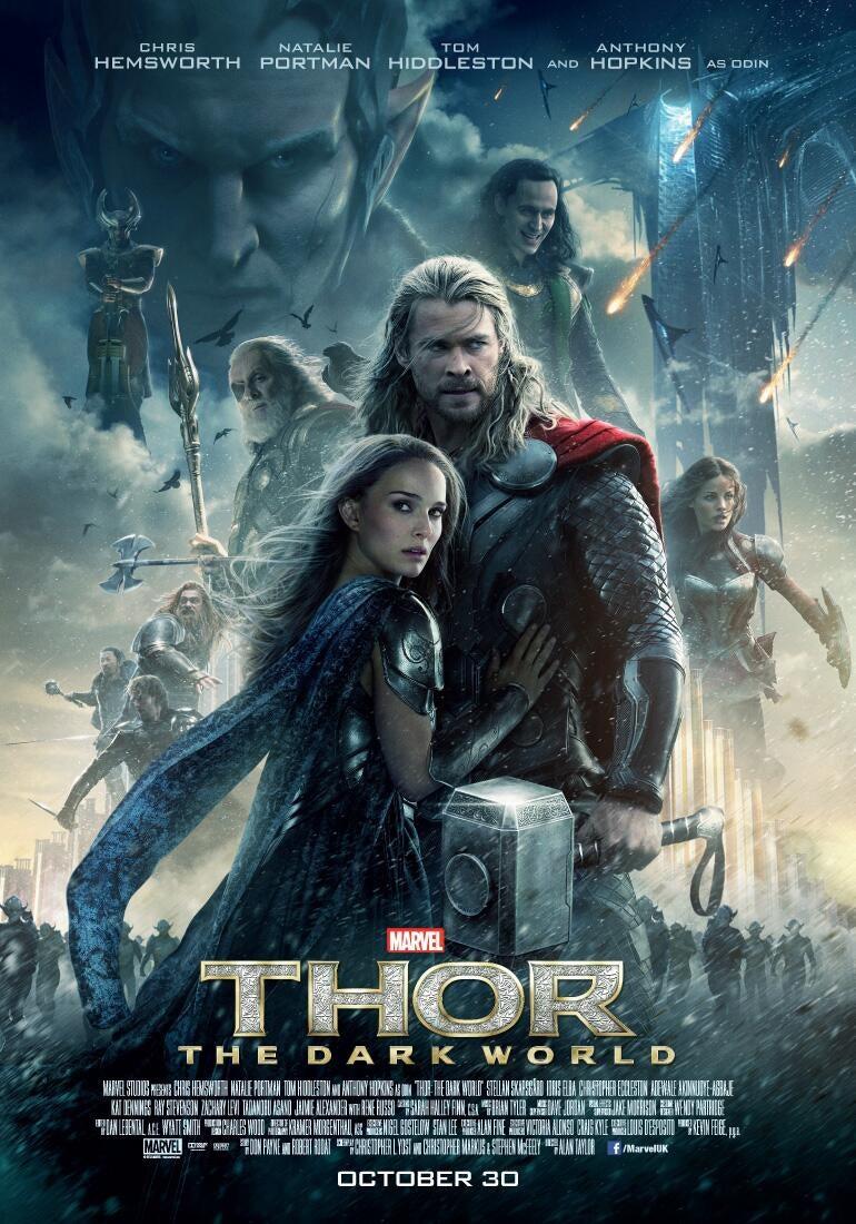 Thor The Dark World Movie Poster - Marvel Cinematic Universe
