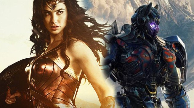Transformers 5 vs Wonder Woman Home Video Sales