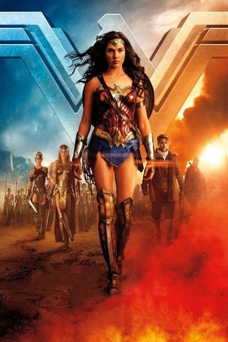 Wonder Woman 2 movie poster image