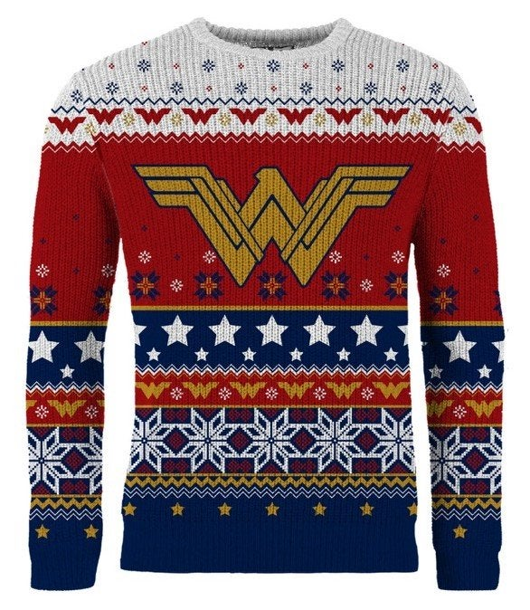 Power Rangers Christmas Jumper.Join The Ugly Christmas Sweater Justice League