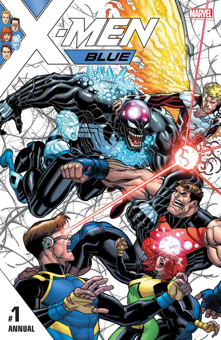 X-Men Blue Annual #1 Cover