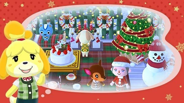 Animal Crossing Pocket Camp Holiday Event