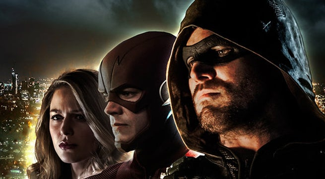 Arrowverse Crisis on Earth-X Fan Poster Header