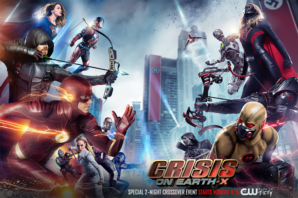 Arrowverse Crisis on Earth-X Official Poster