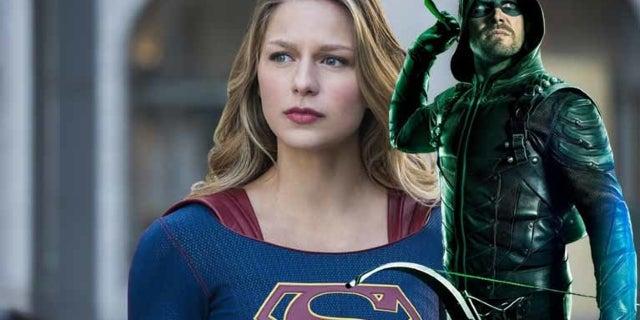 arrowverse crossover arrow supergirl