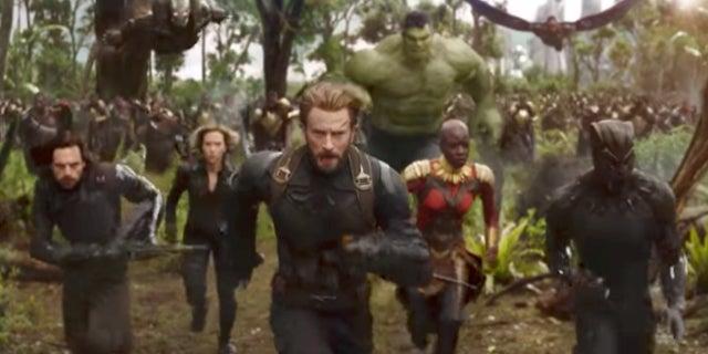 Avengers: Infinity War Battle of Wakanda