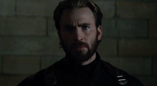 avengers infinity war captain america beard