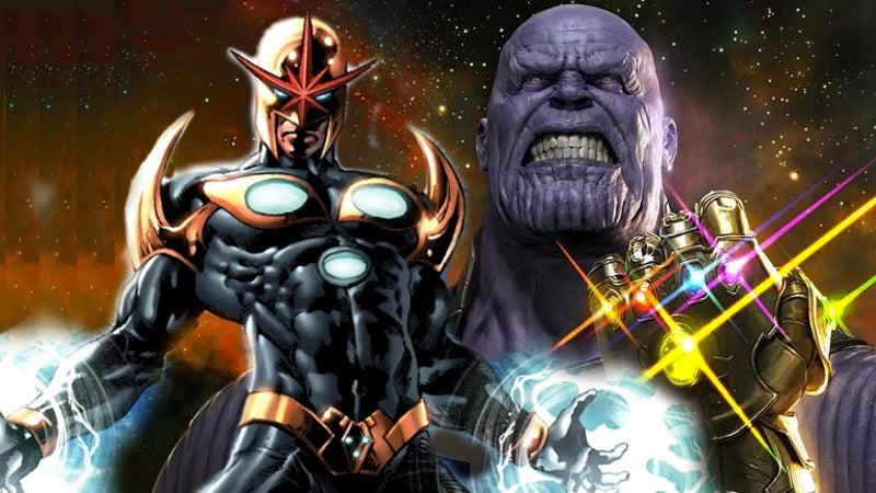 Avengers Infinity War Nova Richard Rider Xandar