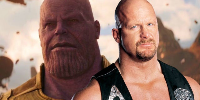 avengers infinity war thanos stone cold steve austin