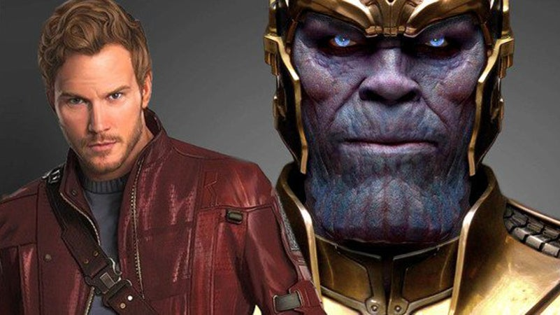 Avengers Infinity War Trailer SDCC Footage Differences -  Star-Lord vs. Thanos