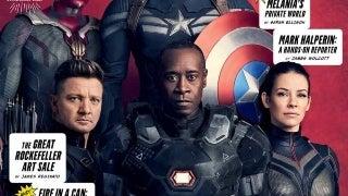 Avengers Vanity Fair Covers