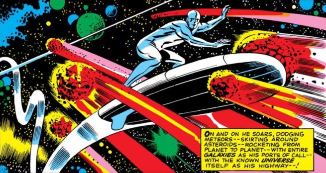 Best Silver Surfer Artists - Cover
