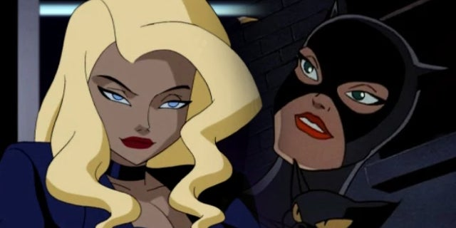 black canary catwoman batman the animated series