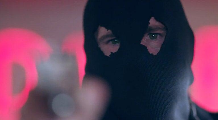 black hood eyes