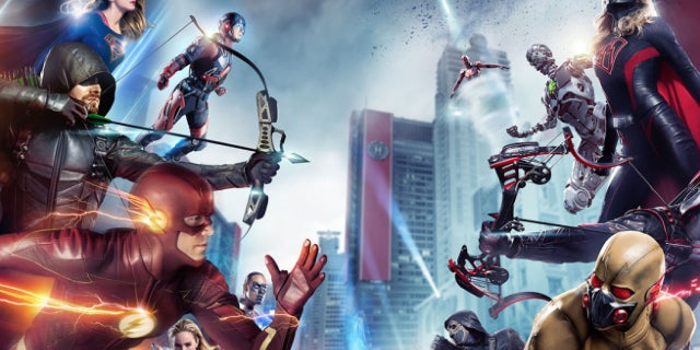 crisis on earth x poster arrowverse