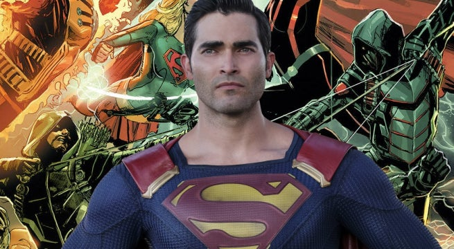 crisis on earth x superman