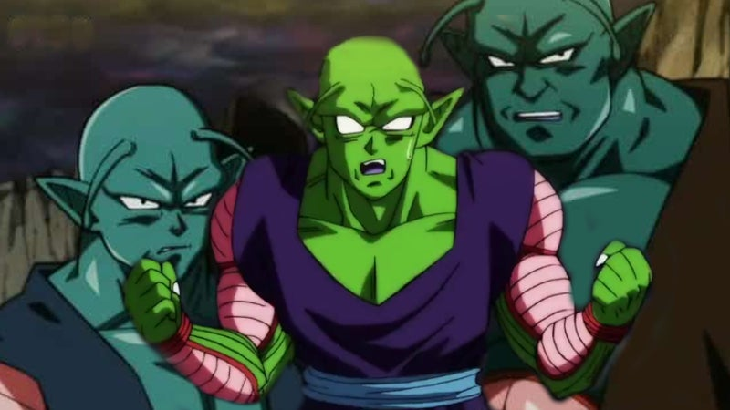 Dragon Ball Super Piccolo Fusion Merge Universe 6 Namekians