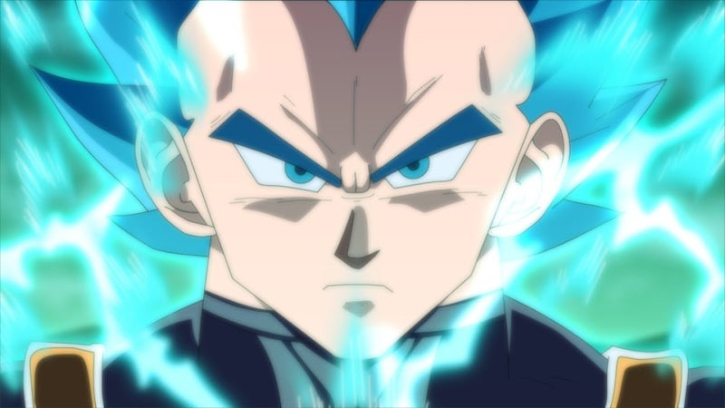 Dragon Ball Super Vegeta Tournament Power Transformation