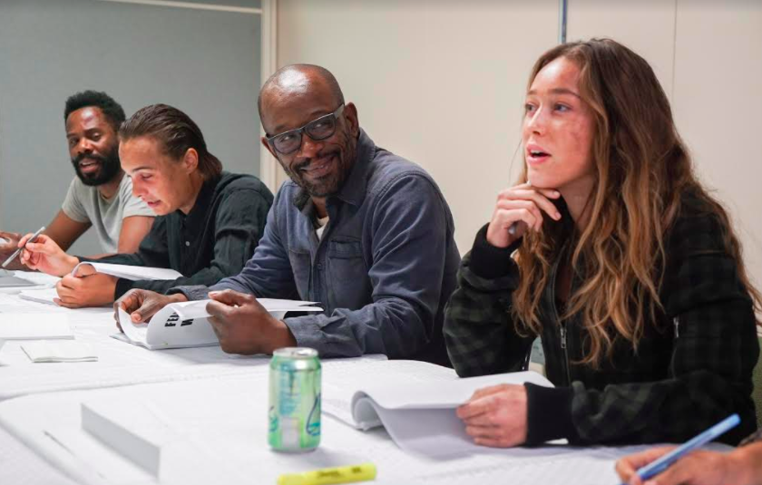 ftwd lennie james morgan table read