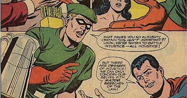 green arrow justice league