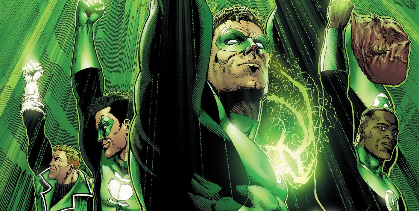 Green-Lantern-Corps-Comic