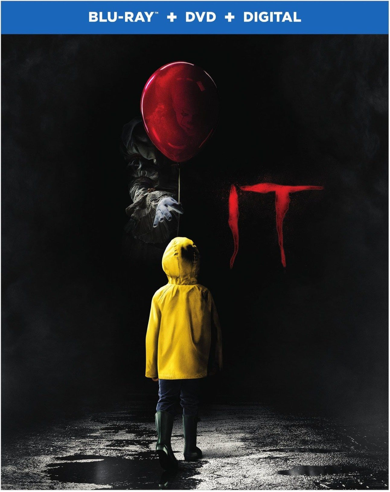 it movie blu-ray pennywise