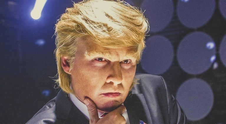 Johnny Depp as Donald Trump