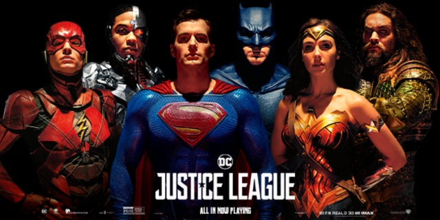 superman finally included on justice league promotional photo