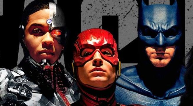 justice league batman flash cyborg