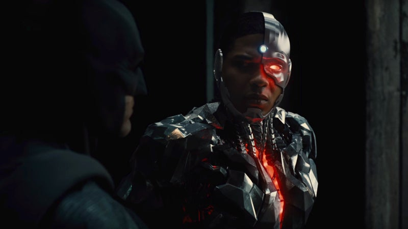 Justice League Deleted Scenes - Cyborg and Batman