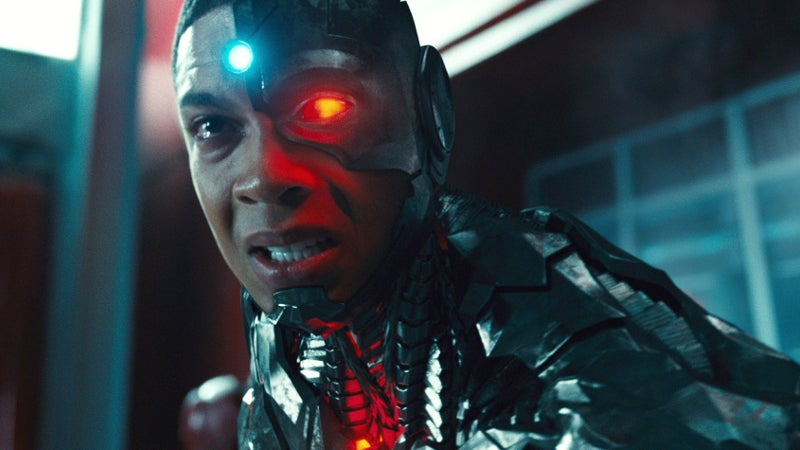 Justice League Deleted Scenes Cyborg's Mom