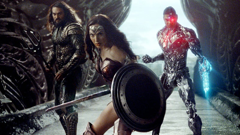 Justice League Deleted Scenes - Wonder Woman Shall We