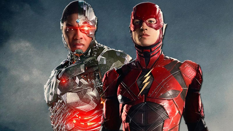 Justice League Flash Cyborg Movie Connections