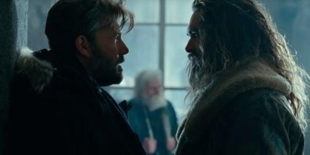 Justice League movie Batman meets Aquaman