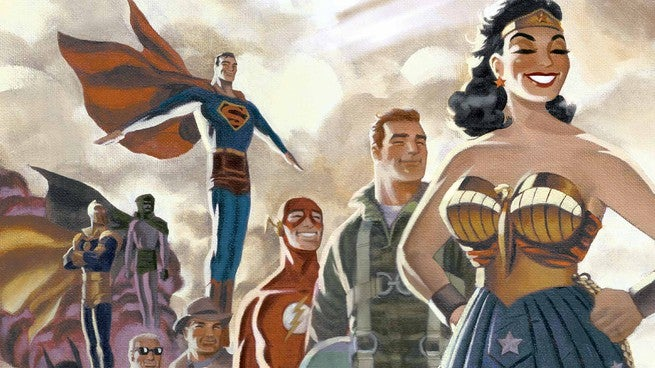 Justice League Starting Points - Cover