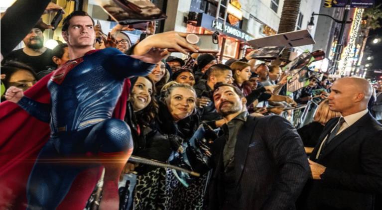 Justice League Superman Henry Cavill fans