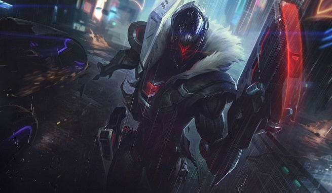 League of Legensd PROJECT Jhin